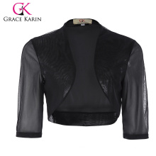 Grace Karin Femmes à moitié manches courtes courtes en mousseline de soie Bolero Shrug Shawles CL010473-1