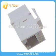 Белый цвет Cat6 Inline Coupler 8p8c Разъем RJ45