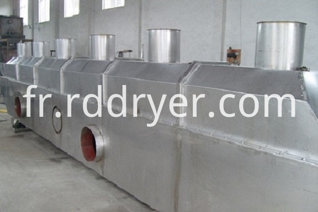 Confectioners Sugar Vibrating Fluid Bed Dryer