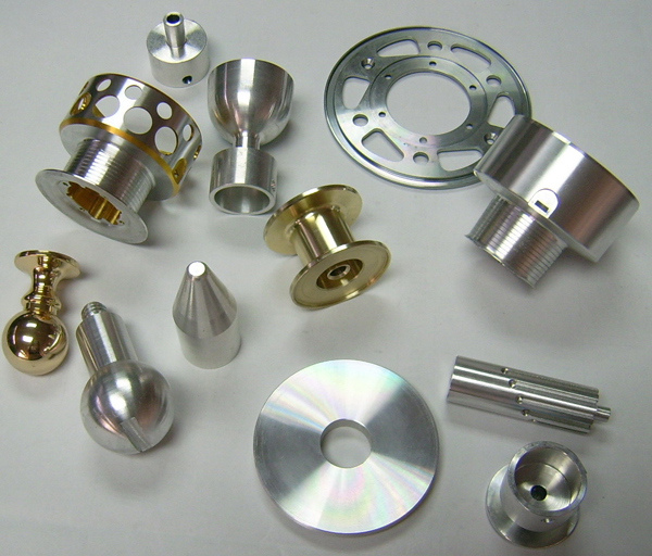 custom cnc lathe parts