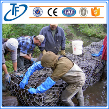 Hot dipped galvanized Gabion mattress