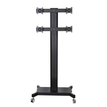"Public TV Floor Stand 6-Monitor 10-24"" (AVD 004B)"