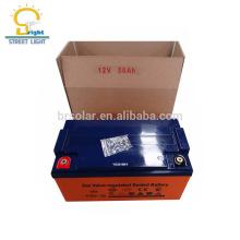 Безуходная батарея ,в / 90 Ач солнечная батарея геля, с CE, утверждения RoHS