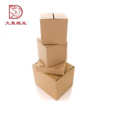 Baixo preço de fabricantes caixa de papelão ondulado personalizado
