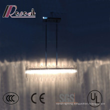 Modern Hotel Decorative LED Glass Tube Ceiling Light