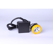 All-In-One Miner's Cap Lampe 3W KL5LM, wasserdicht IP68 LED Miner Scheinwerfer mit Smart Charger & Car Charger