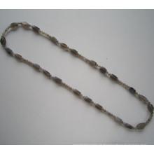 Novo estilo colar de pedras preciosas, atacado colar