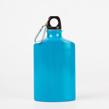 Aluminium Blue Water Bottle for Wine with Printing
