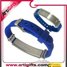 Wholesale stainless steel germanium bracelet