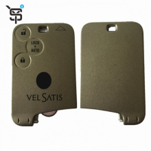 High quality remote car key with 3 button car key cloner for Renault 433 Mhz PCF7947 For Vel Satis 2002-2007