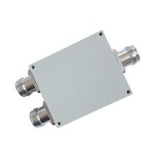 550-2700MHz Wilkinson Micro Stripline 4.3-10 Female 2 Way Power Splitter
