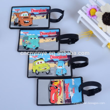 airline soft rubber luggage baggage tags