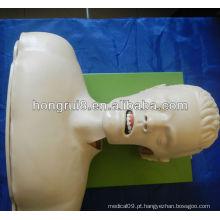 Simulador de intubação da via aérea (gerenciamento de vias aéreas, modelo anatômico)