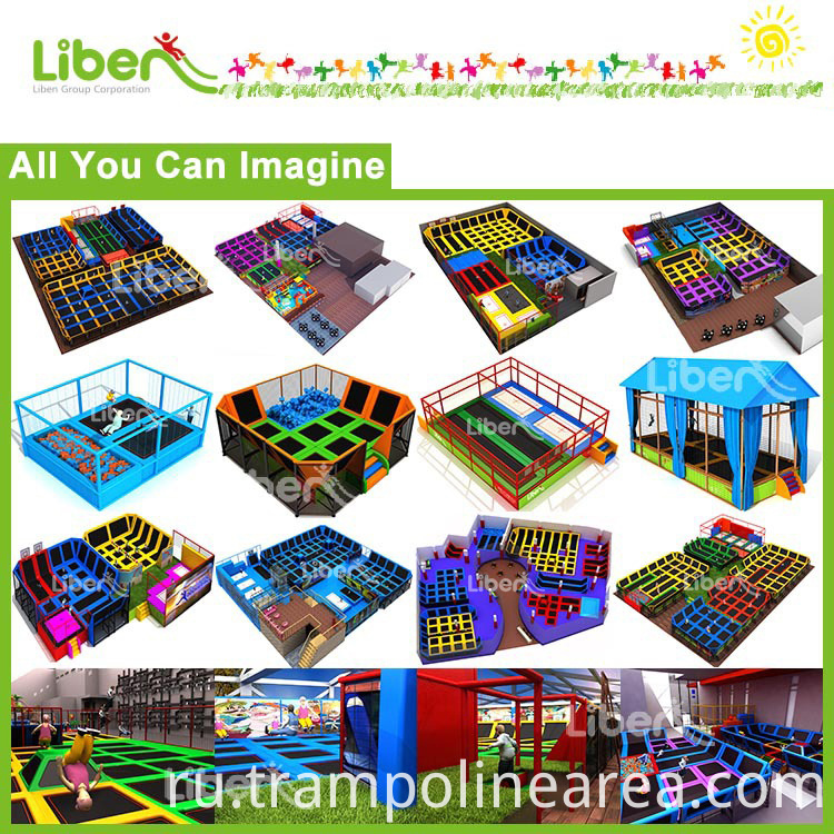 customized trampoline park for adult
