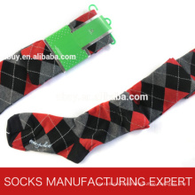 100% Cotton of Woman Coloful Tube Sock (UBM1055)