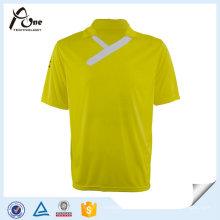 T-shirt de sport de club de football des hommes T-shirt