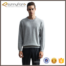 Custom design 100 cashmere mens sweater pullover model on sale