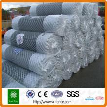 clôture de lien de chaîne en métal enduit par PVC / clôture