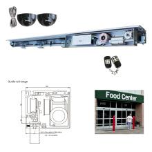 Supermarket door entrance automation system dunker motor sensor auto sliding door