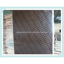 Завода непосредственно продажу Черная/коричневая пленка смотрела на Переклейку для конструкции