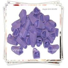 Bottes RJ45 Purple Strain Relief