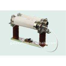 Fusible de alto voltaje base con Micro interruptor de montaje 2P