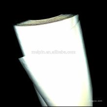 Hi-Viz Weiß reflektierendes Gewebe