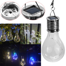 Waterproof Solar Rotatable Outdoor Garden Camping Hanging Lamp Bulb LED Light
