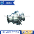 food grade sanitary stainless steel clamp check valve