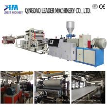 Linha de produção de placa de espuma de PVC / placa de plástico máquina de placa
