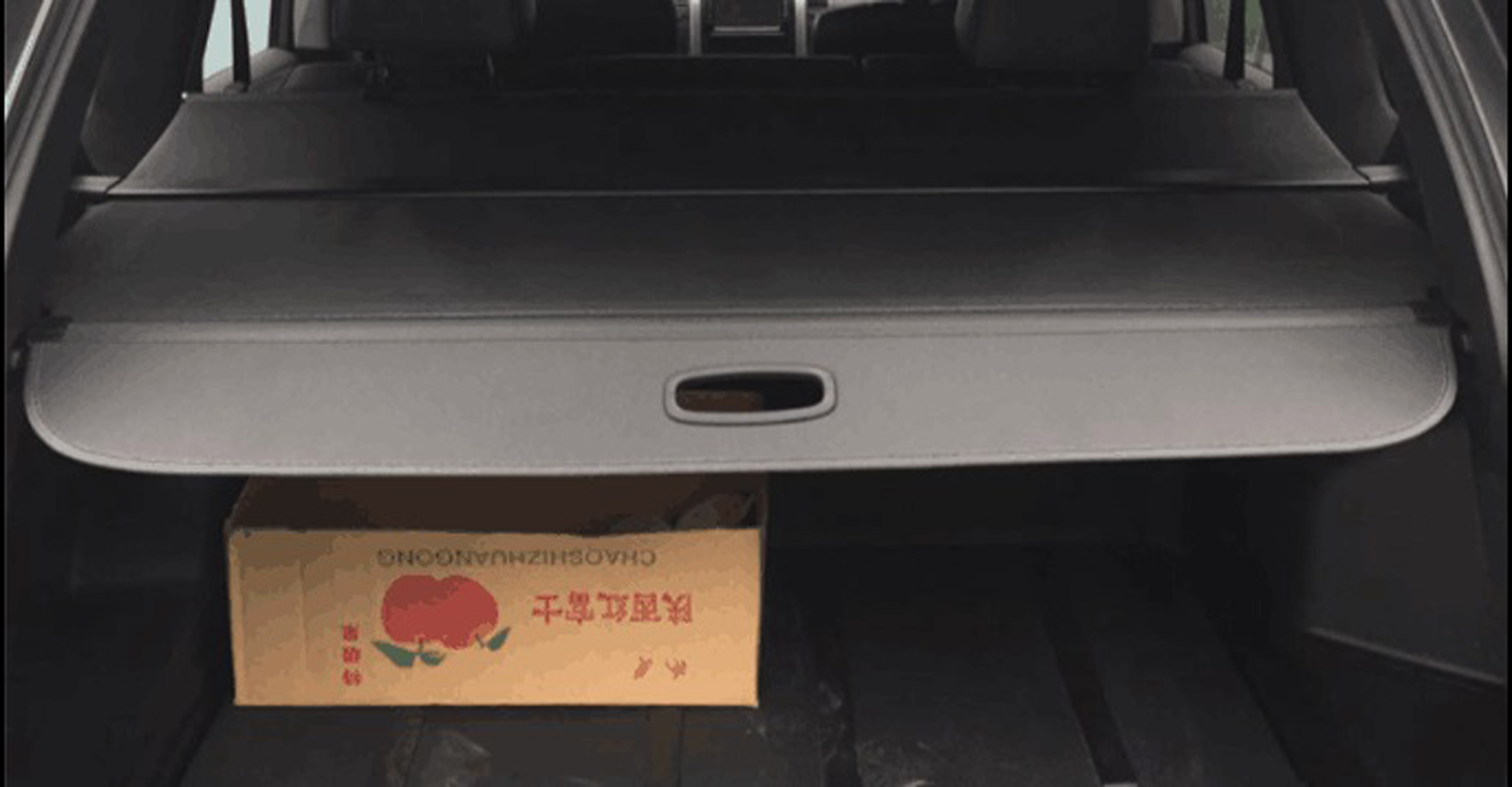 07 Nissan X-Trail cargo cover