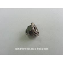 stainless steel hex flange cap nut