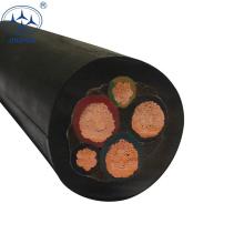 CE Aprovado 4 núcleo 6mm flexível yc cabo de borracha h07rn-f 3g1.5 preço em kiljara