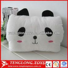 Costume, enchido, bonito, panda, plush, Inverno, mão, aquecedor