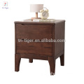 European simple wood bedside modern night stand table