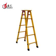 Hot sale anti-fire fiberglass herringbone ladder
