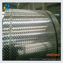 Bobine d'aluminium à prix réduit en stuc en relief