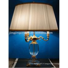 Accueil Produits Lampe de table en cristal