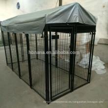 Nuevo diseño EE. UU. Y Canadá Perchas de perro baratas de tamaño estándar con techo impermeable