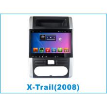 Système Android Car DVD Player pour X-Trail avec navigation GPS
