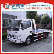 Dongfeng dlk one tow two towbed trucks