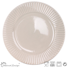 """10.5"""" Embossed Dinner Plate High Quality"""