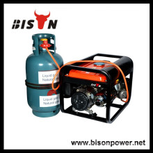 BISON(CHINA) gas operated electric generator