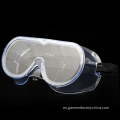 Anti Fog Anti Splash PVC PC Gafas de seguridad