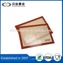 Hot Selling Food Grade High Quality Fashion Non Stick silicone baking mat, Set of 2 anti slip silicone baking mat with FDA LFGB                                                                         Quality Choice