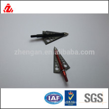 aluminum and carbon steel color arrow