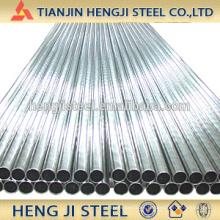 Tubo de acero galvanizado en caliente