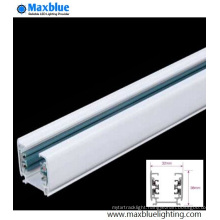 White/Black/Silver Color Aluminum Rail Track Bar for LED Track Light