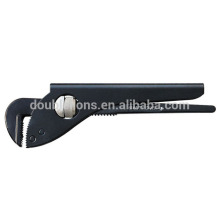 German type Pipe Wrench with carbon Steel, Jaws Dop Forged ,Rigid Pipe Wrenches