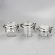 350ml Square Type Pet Kliner Jar Airtight Jar (EF-J23S350)